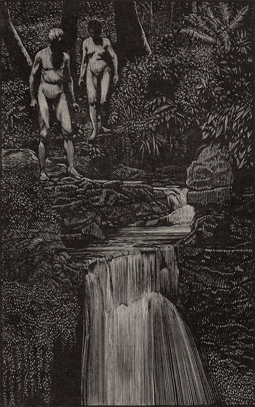 Adam And Eve In The Garden Of Eden ∙ The Holy Bible ∙ R