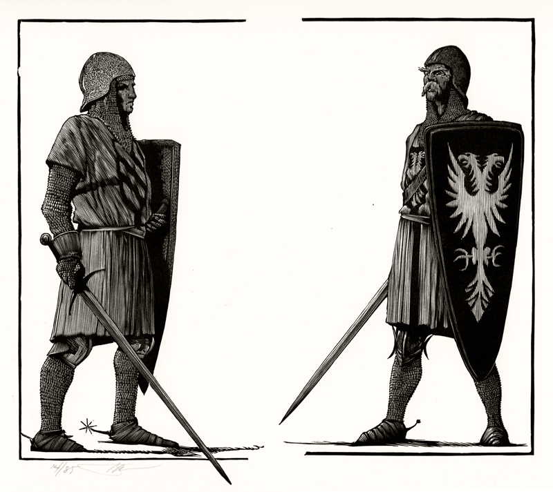 Lancelot and Gawain