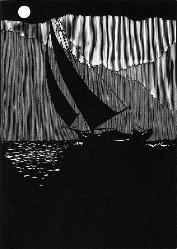 Victor Alone, Sailing