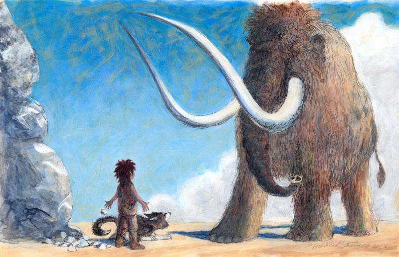 A Woolly Mammoth!