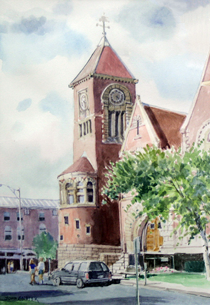 Amherst Town Hall ∙ Paintings ∙ R Michelson Galleries