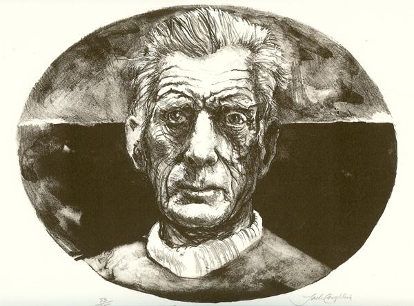 Samuel Beckett (Oval)
