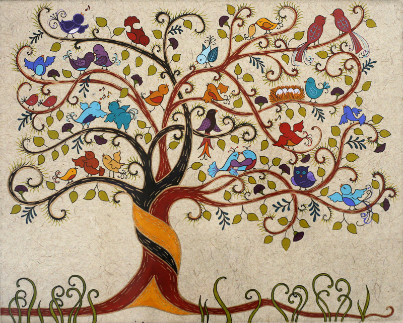 Bird Song ∙ Tree Of Life ∙ R Michelson Galleries