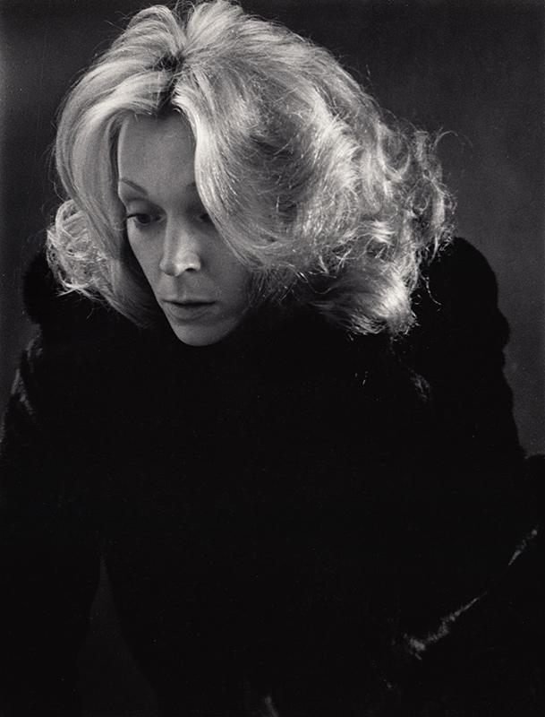 Dark Portrait of Woman 2