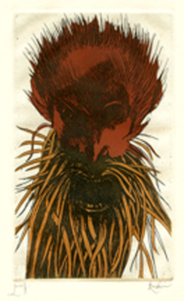 Deamons Bearded (Red)