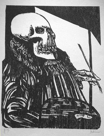 Death the Painter