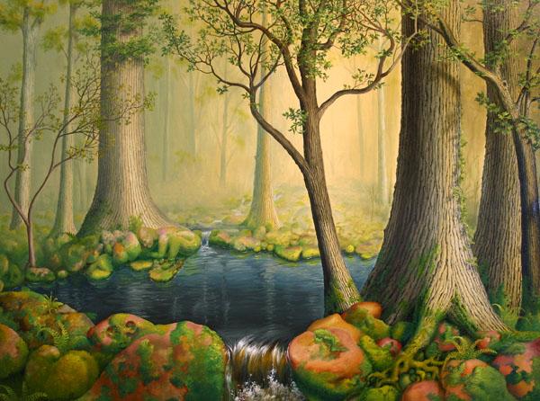 Deep Woods Pool ∙ Paintings ∙ R Michelson Galleries