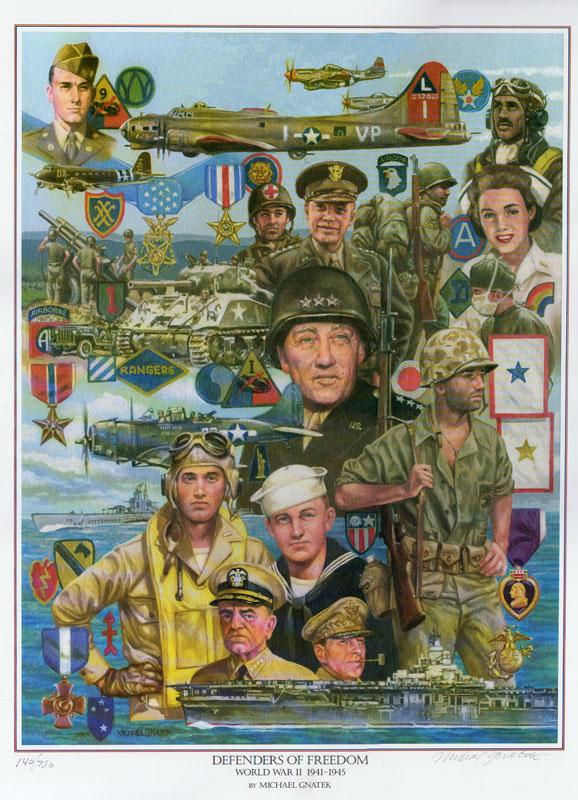 Defenders of Freedom <br> World War II 1941-1945