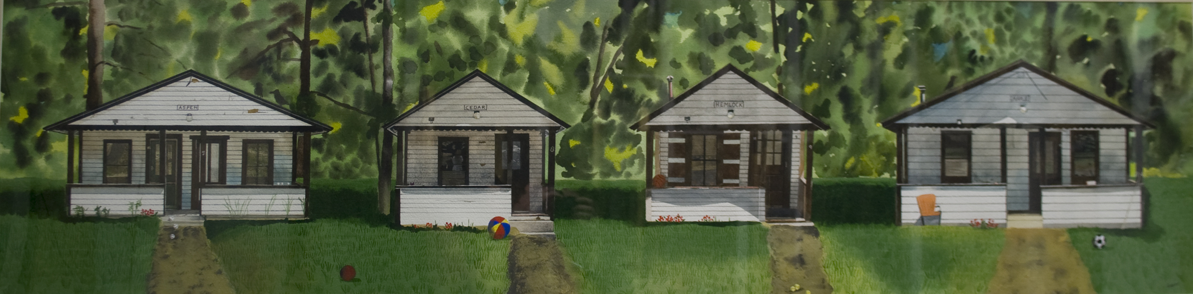 Four Cabins
