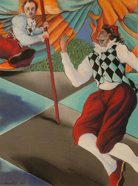 Harlequin Dancers