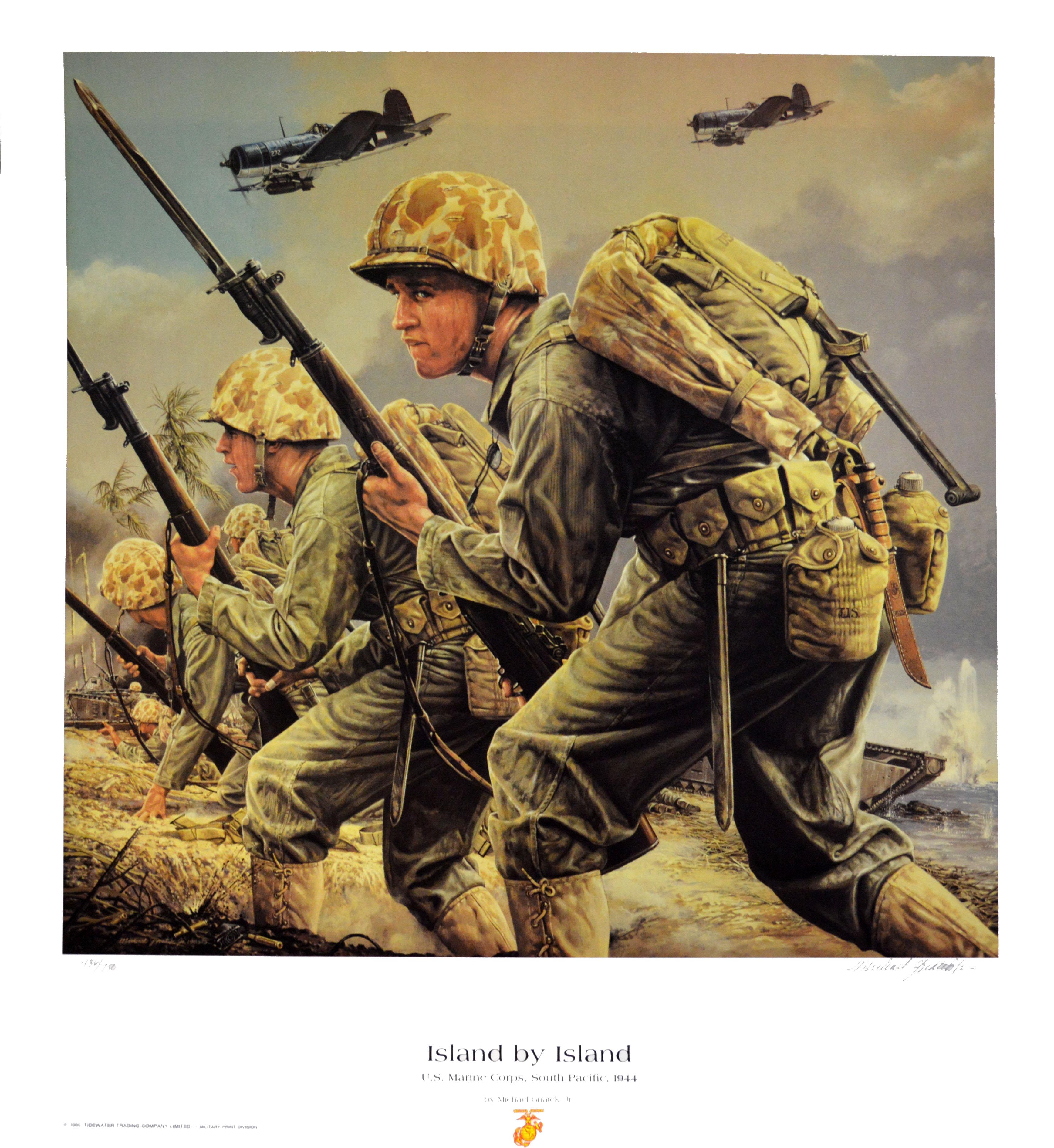 Island By Island U S Marine Corps South Pacific 1944