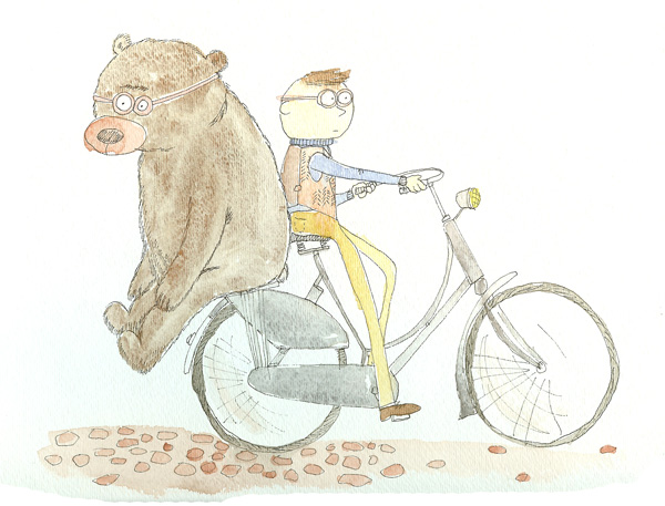 OFav-bicycle-rider-in-vest-with-bear