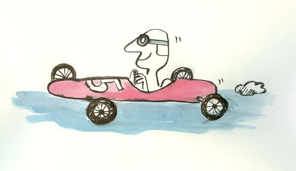 Race Car Driver No. 5