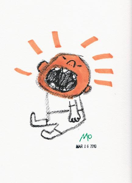 Screaming Pumpkin Baby
