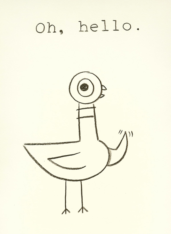 Oh Hello ∙ Pigeon ∙ R Michelson Galleries