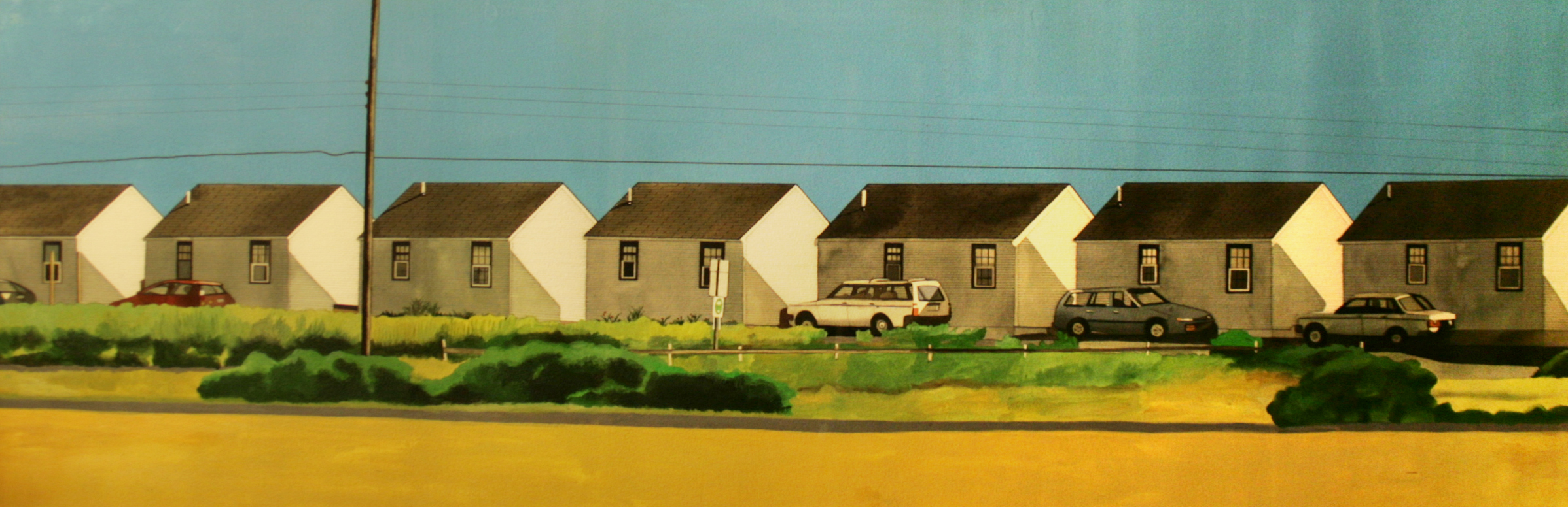 Row of Cottages (Truro Beach)