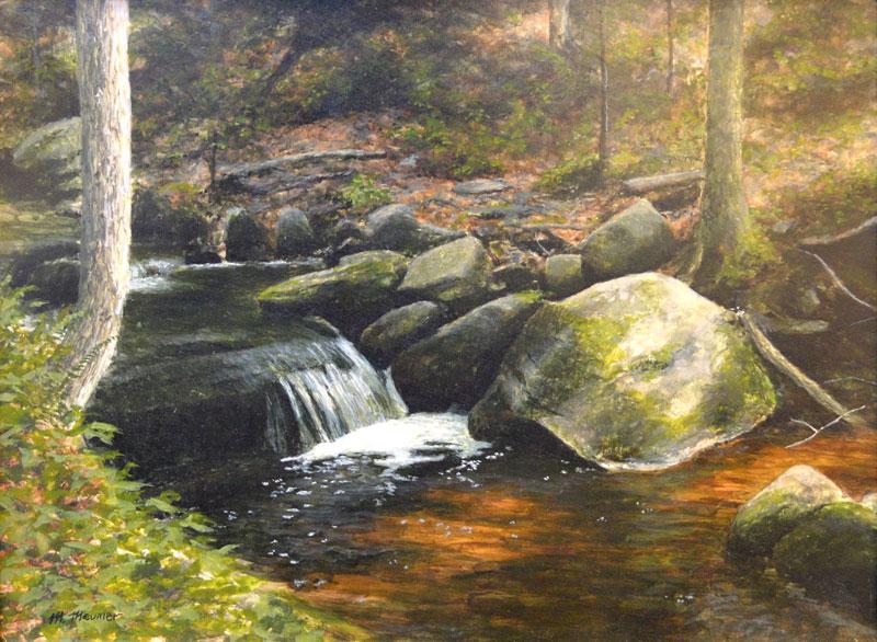Study for Rock Falls