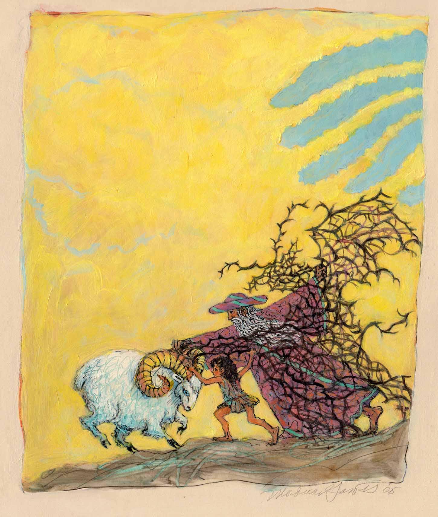 Abraham Frees the Ram