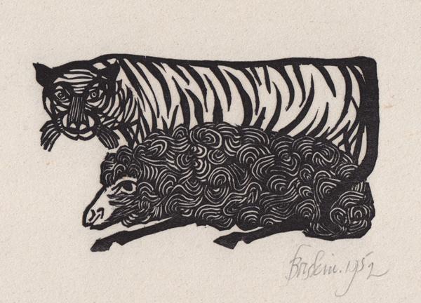 Tiger and Lamb