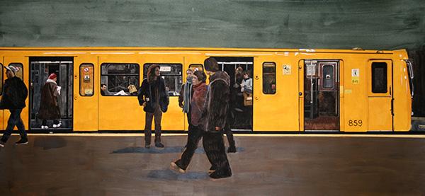 U-Bahn Train