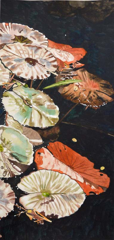 Water Lillies Triptic (Right)