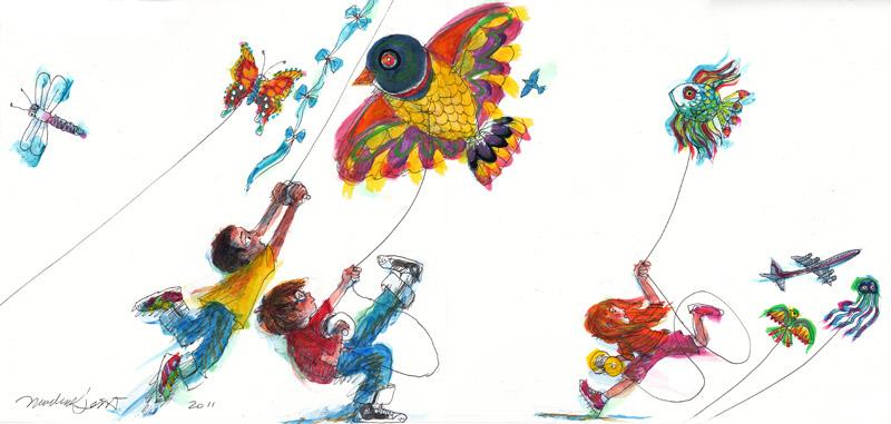 Kite and Air