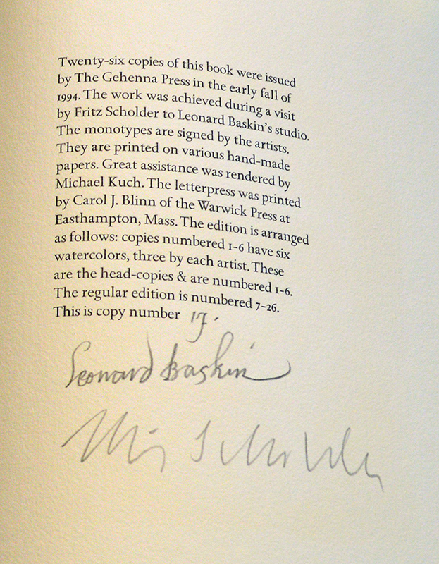A Book of Plains Indians (signatures)
