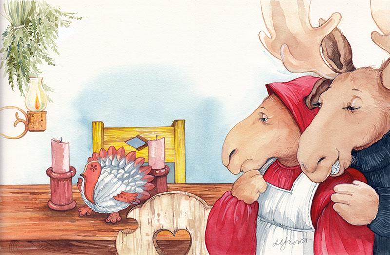 I Wish We Had a Real Turkey