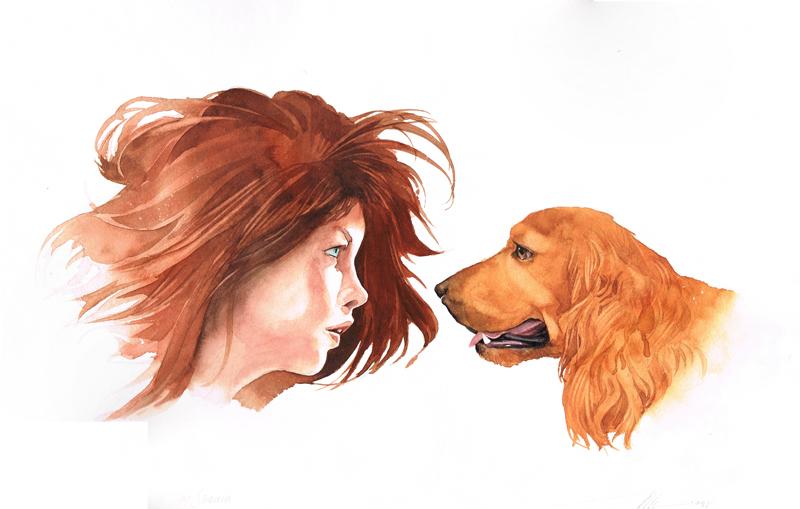 Argia and Spaniel