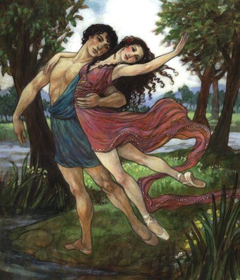 Daphnis and Chloe<br>Dancing