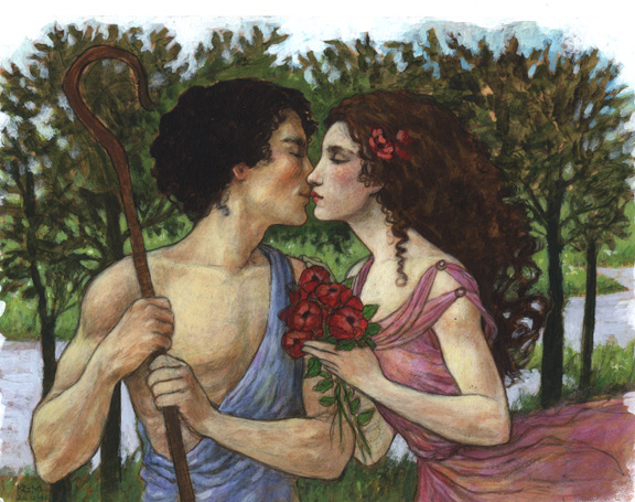Daphnis and Chloe<br>A Kiss of Perfection