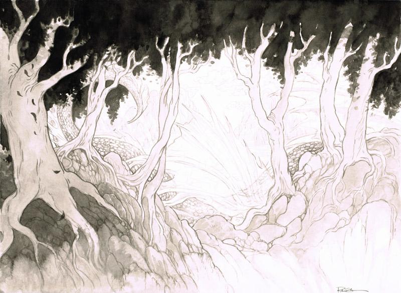 Dying Dragon Sketch