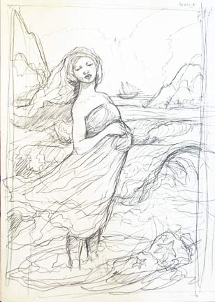 Yemoja Sketch