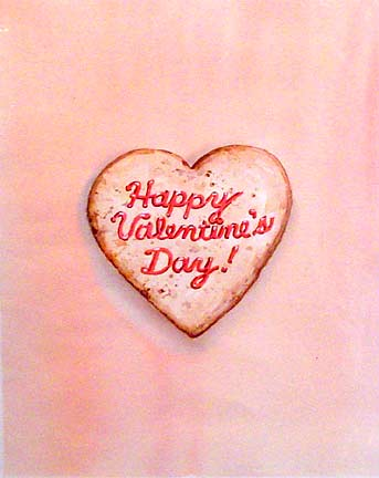 Happy Valentines Day<br>10.5×8.5 in