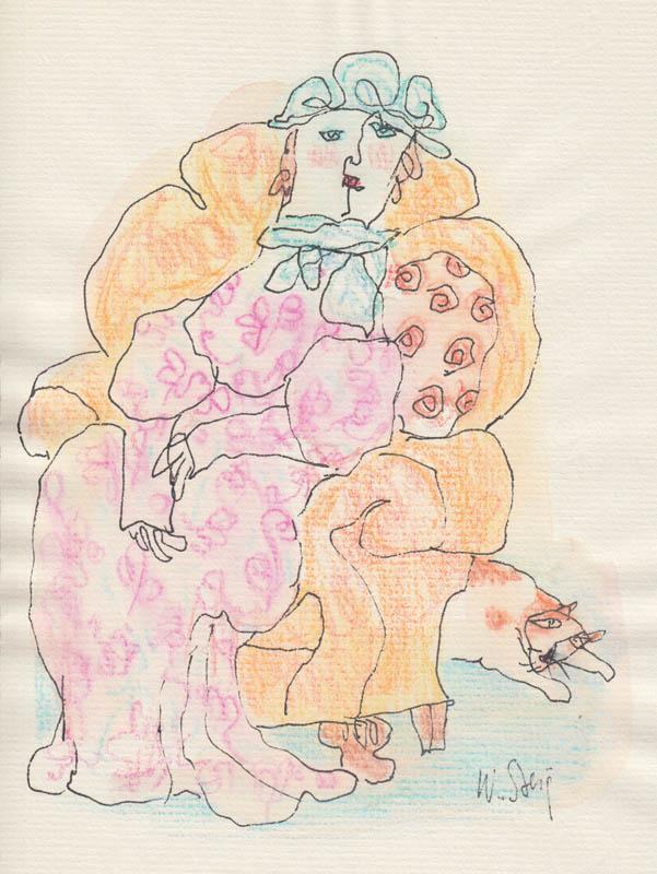 Her Pink Dress