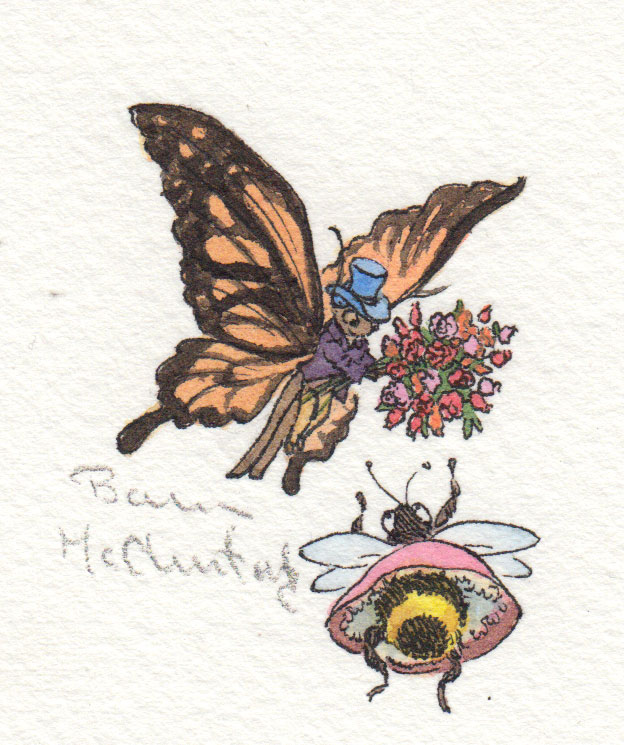 If The Butterfly Courted The Bee