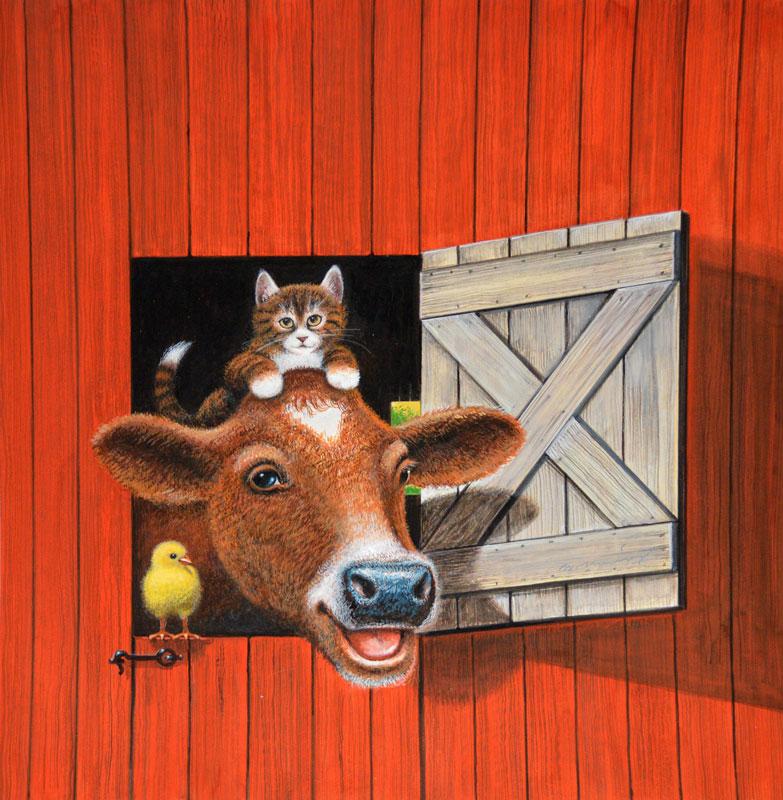 My Farm Friends (Cover)