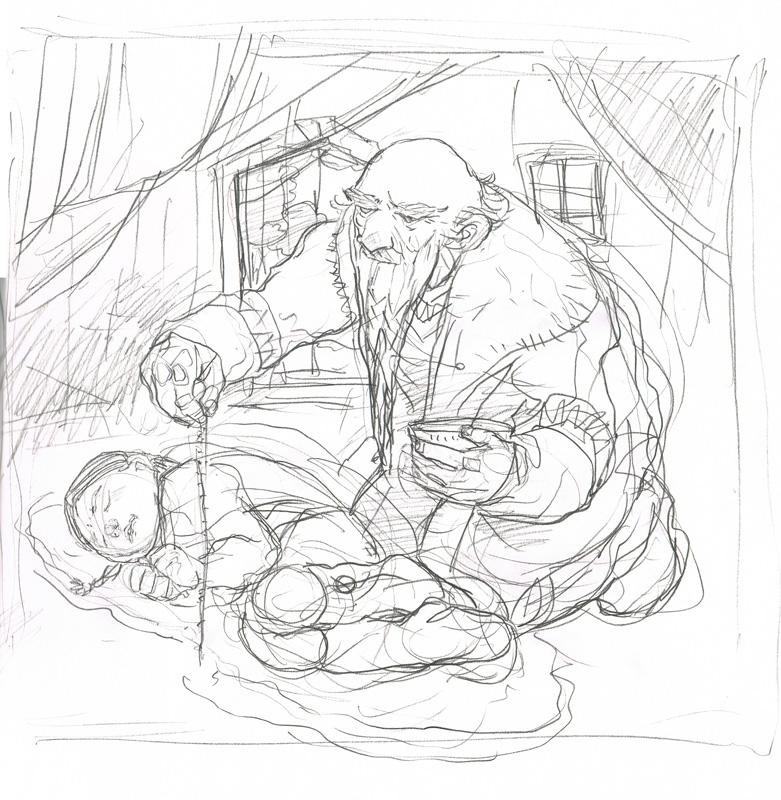 Kithkin Healer Sketch