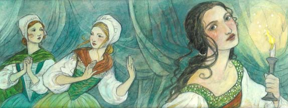 Coppelia: The Girl with the Enamel Eyes<br>The House of Coppelius