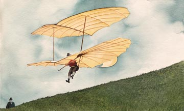 Last Flight of Otto Lilienthal