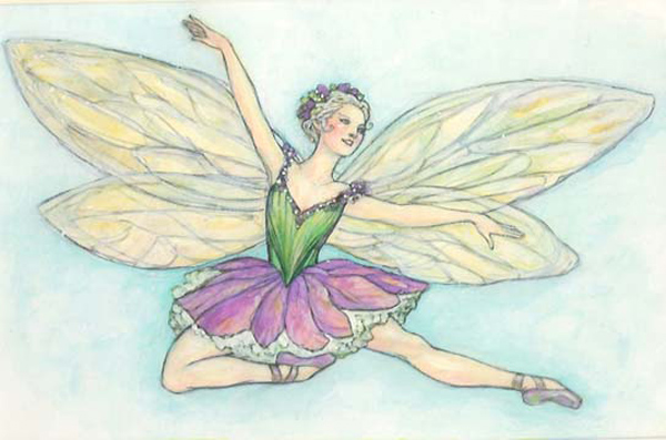 The Dancing Fairy<br>Title Page