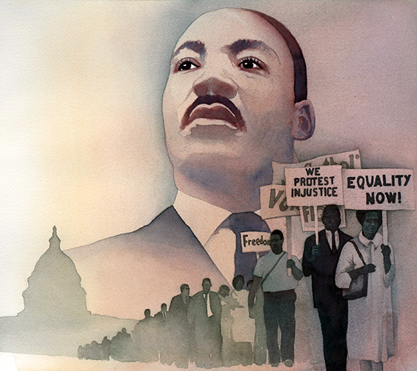 Martin Luther King Jr A Land Of Big Dreamers R Michelson