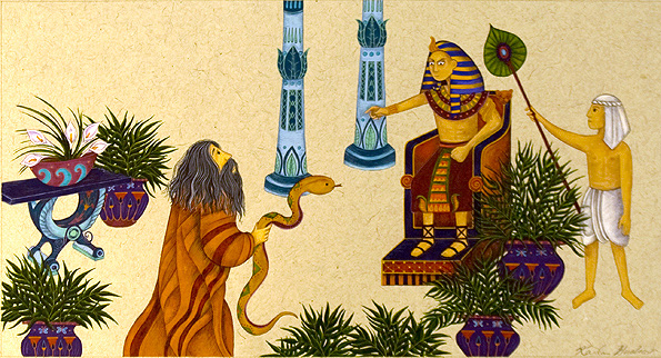 Moses and Pharoh