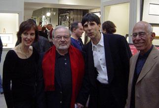 Jennier Michelson, Maurice Sendak, Richard Michelson, and Mordicai Gerstein