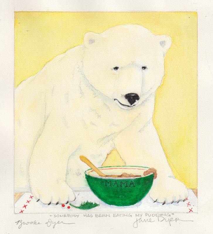 Somebody Has Been Eating My Pudding Said Mama Bear