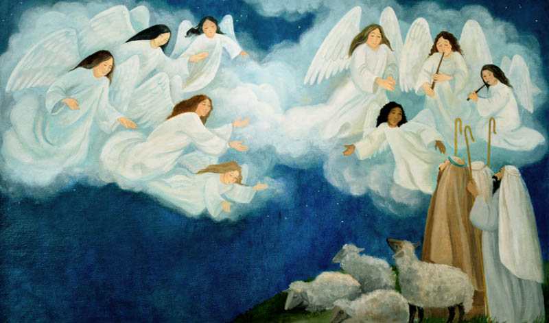 the heavenly host - When Was The First Christmas