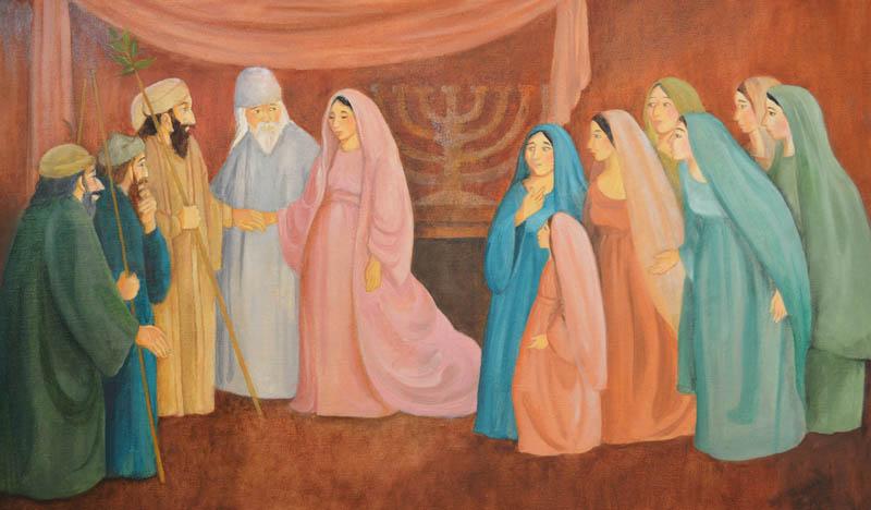 Joseph Took Mary