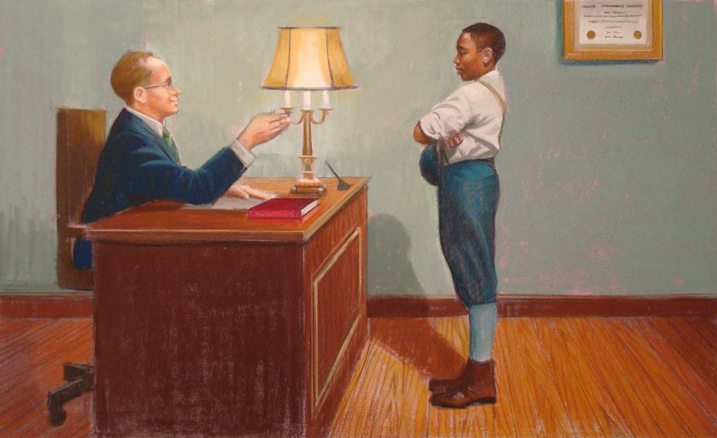 Dr. Casey Called Willie into his Office