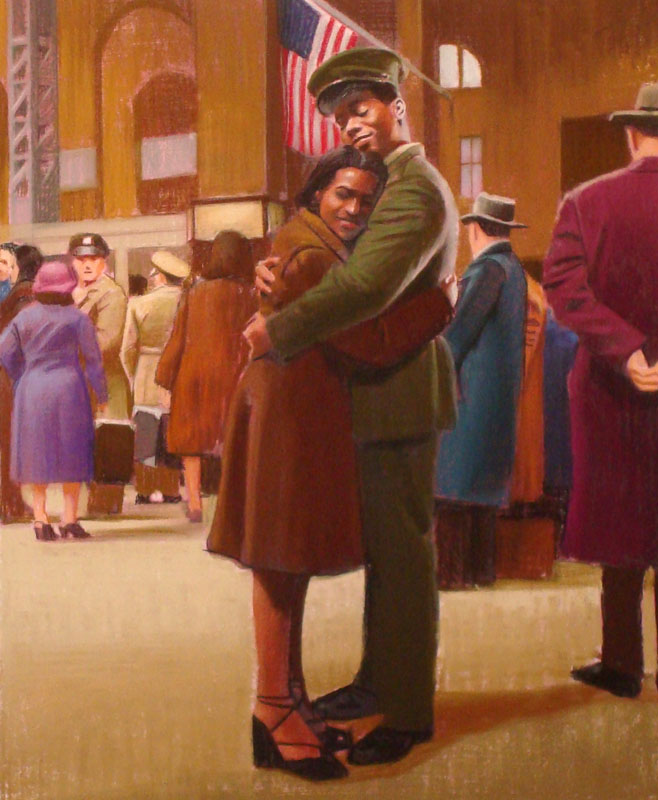 Willie Hugged Marcella Goodbye
