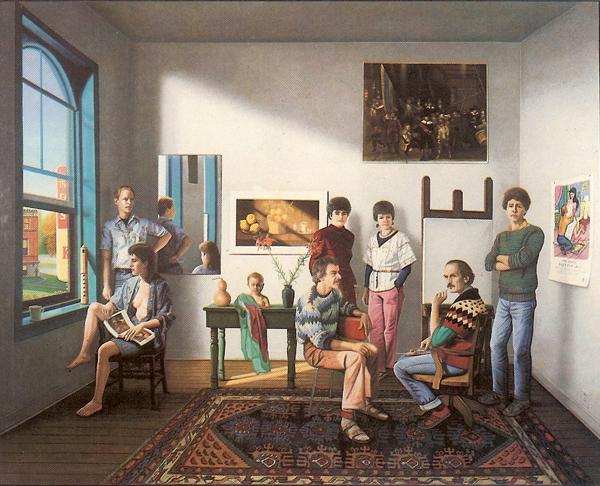 Artists in Studio 1985